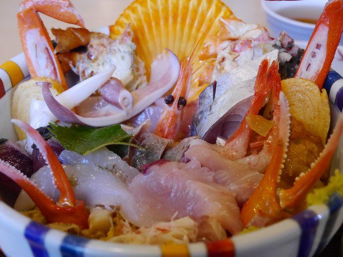 海鮮丼 (9)