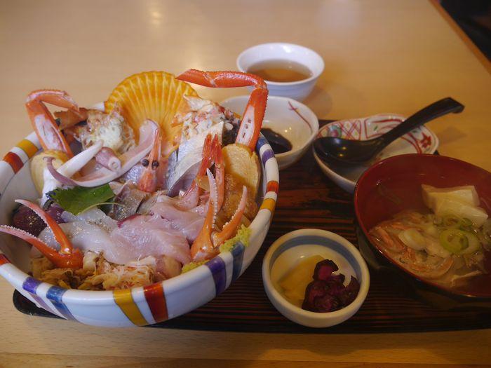 海鮮丼 (8)