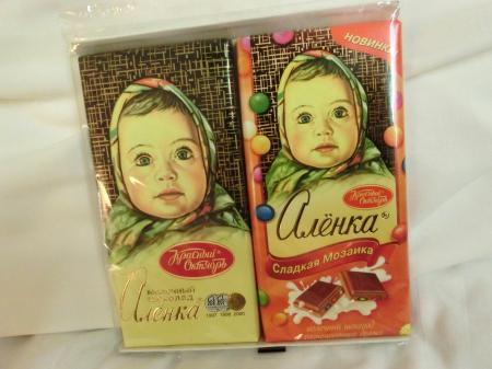ロシア・サンクトペテルブルク スーパーのお菓子1
