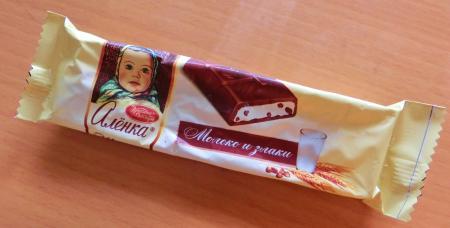 ロシア・サンクトペテルブルク スーパーのお菓子7