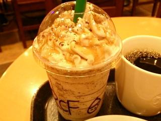 スターバックスコーヒー ローストナッティチェスナッツフラペチーノ¥560