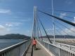 8a(大) 多々羅大橋を渡る もうすぐ愛媛県