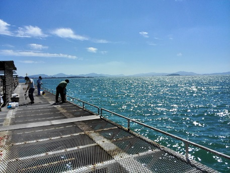 8 下関フィッシングパーク・魚釣り