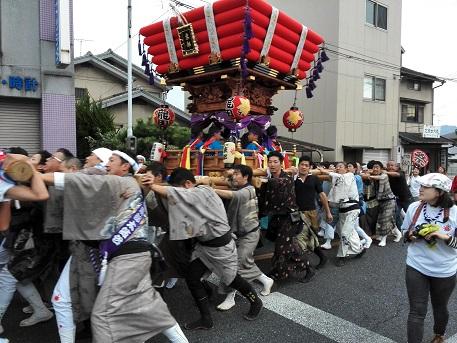 5 龍田神社の秋祭り