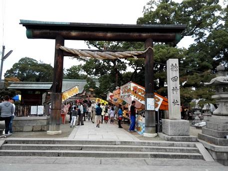 2 龍田神社の秋祭り