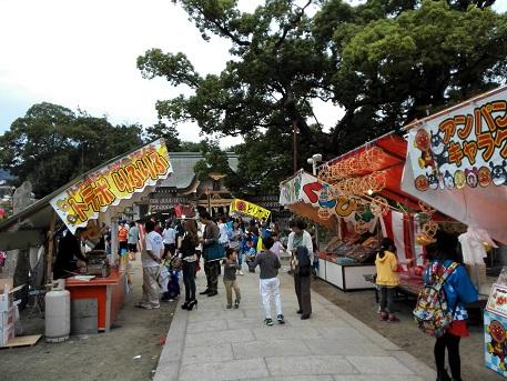3 龍田神社の秋祭り