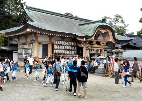 4 龍田神社の秋祭り