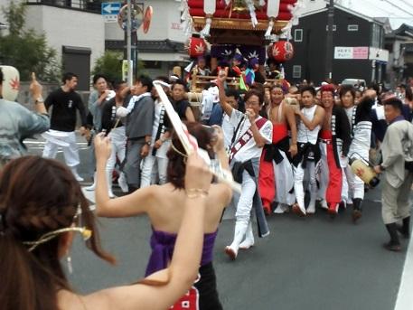 9 龍田神社の秋祭り