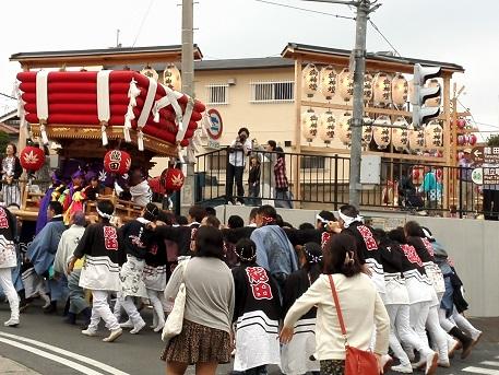7 龍田神社の秋祭り