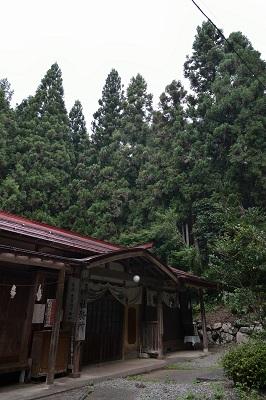 軍刀利神社の社務所