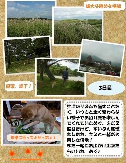 コルクボード・九州秋の旅5