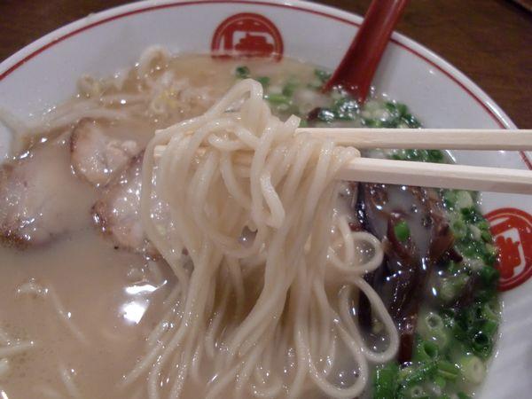 唐そば@渋谷・20150906・麺