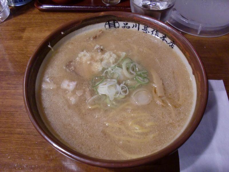 品川甚作本店@水道橋・20151018・すみれ風味噌