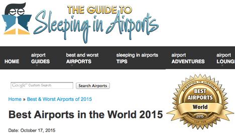 世界最高の空港ランキング 2015が発表に!気になる第1位、そして日本の空港は?