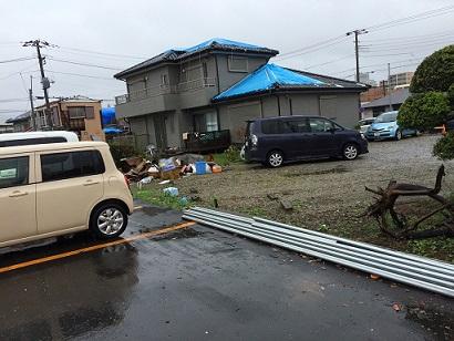 みらい住建 リフォーム 竜巻被害 9号 9日縮小
