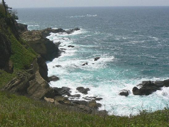 0906ヤセの断崖