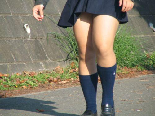 【盗撮画像】JKの太もも美脚がエロ過ぎシコったわ! 39枚 No.7