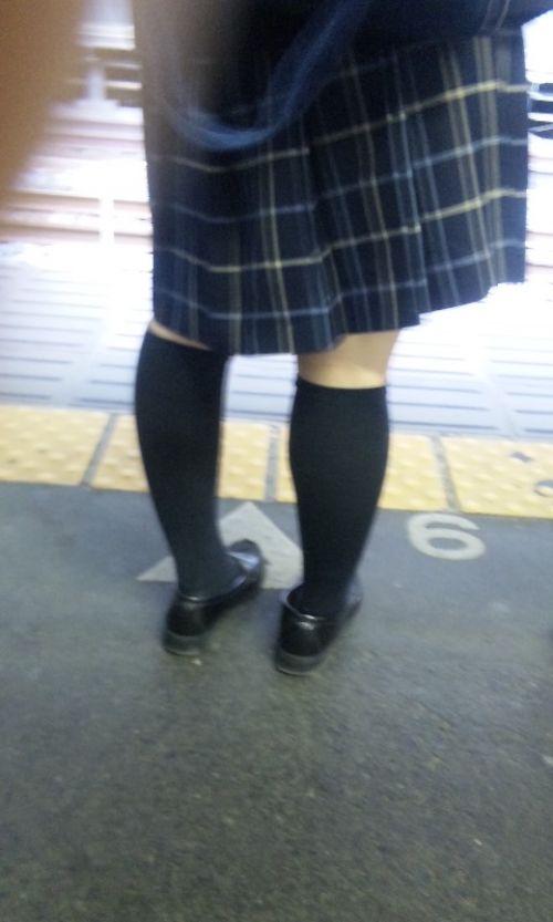 【ムチムチエロ】電車通学で座ってるJKを盗撮した画像集めたった 36枚 No.3
