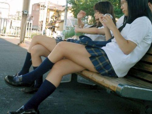 【ムチムチエロ】電車通学で座ってるJKを盗撮した画像集めたった 36枚 No.36