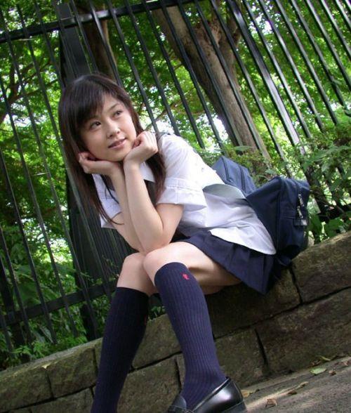 【画像】モデル系のかわいい制服女子高生が好きな奴ちょっと来い! 36枚 No.2
