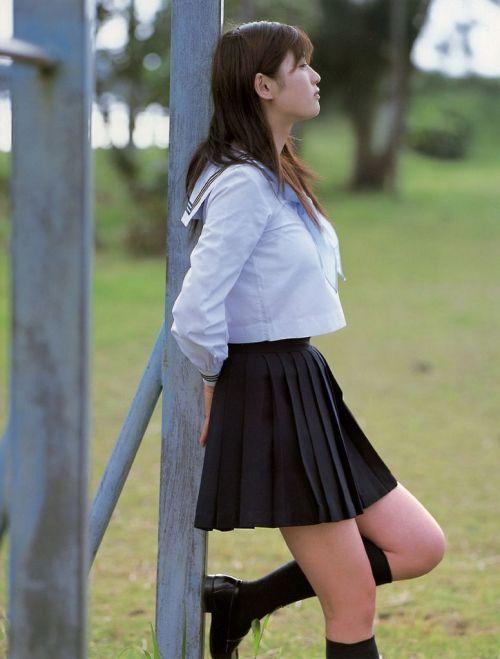 【画像】モデル系のかわいい制服女子高生が好きな奴ちょっと来い! 36枚 No.5