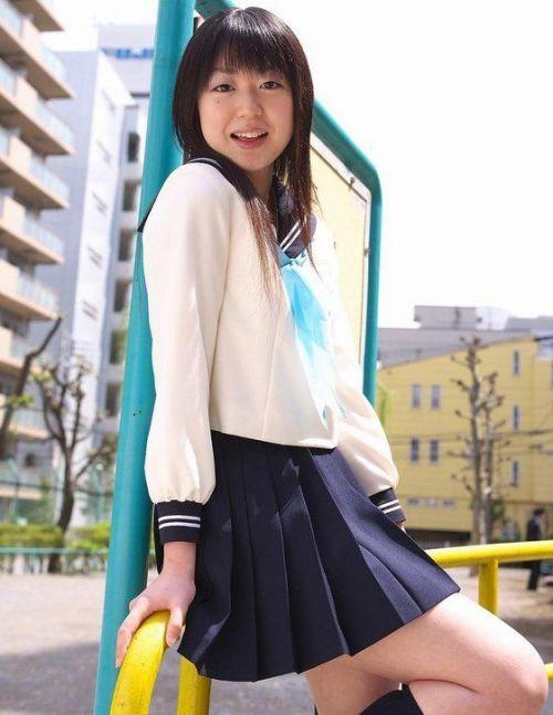 【画像】モデル系のかわいい制服女子高生が好きな奴ちょっと来い! 36枚 No.8