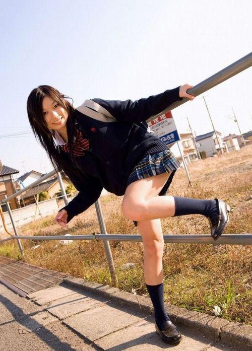 【画像】モデル系のかわいい制服女子高生が好きな奴ちょっと来い! 36枚 No.9