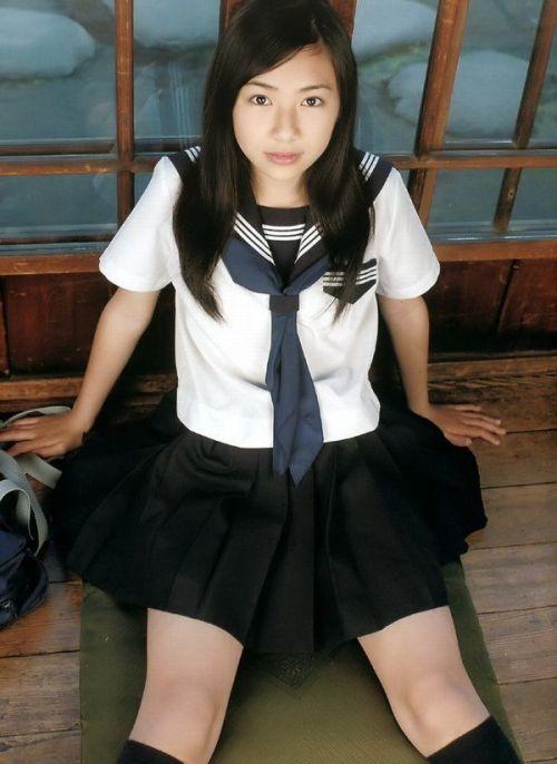 【画像】モデル系のかわいい制服女子高生が好きな奴ちょっと来い! 36枚 No.10