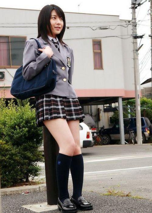 【画像】モデル系のかわいい制服女子高生が好きな奴ちょっと来い! 36枚 No.11