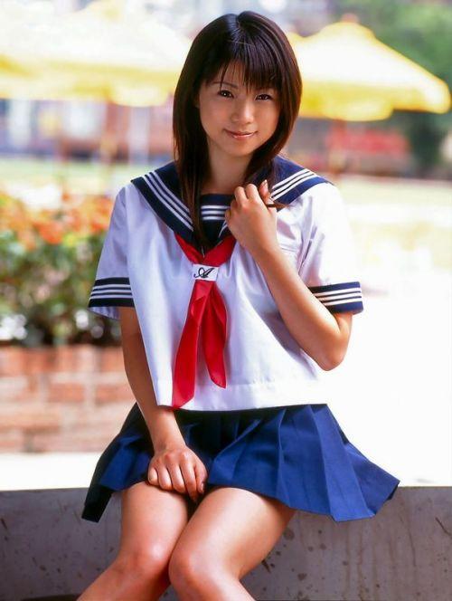 【画像】モデル系のかわいい制服女子高生が好きな奴ちょっと来い! 36枚 No.22