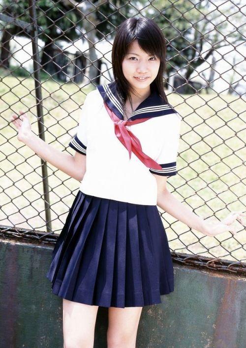 【画像】モデル系のかわいい制服女子高生が好きな奴ちょっと来い! 36枚 No.26