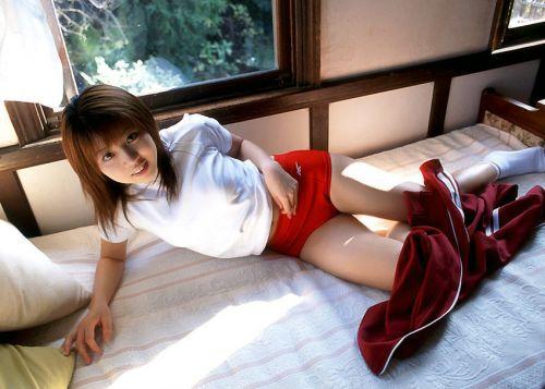 【画像】かわいい女子高生の体操服でブルマ姿まとめ 39枚 No.13