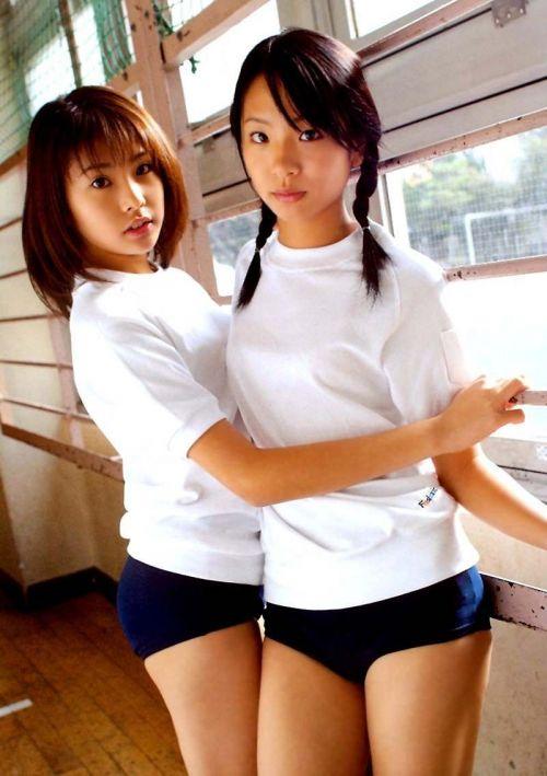 【画像】かわいい女子高生の体操服でブルマ姿まとめ 39枚 No.16