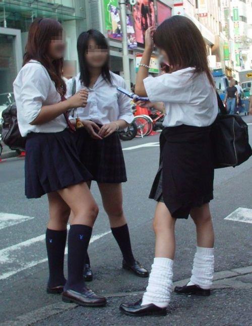 女子高生の街撮り盗撮画像のチョイエロで半勃起だわ! 39枚 No.3