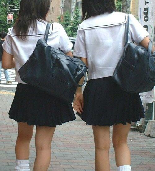 女子高生の街撮り盗撮画像のチョイエロで半勃起だわ! 39枚 No.9