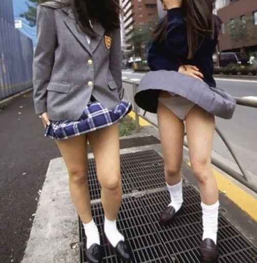 ミニスカ女子高生の見せつけるパンチラエロ画像いっぱい見ちゃう? 40枚 No.36