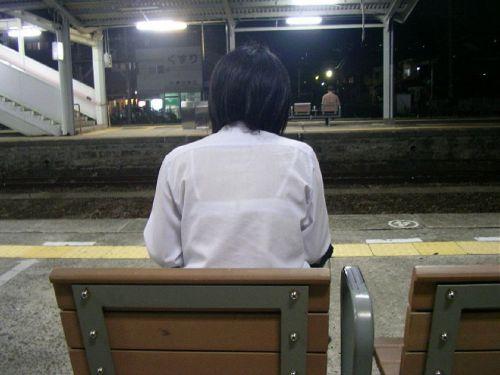 【画像あり】 透けブラ女子高生のエロ画像まとめたよ! 38枚 No.4