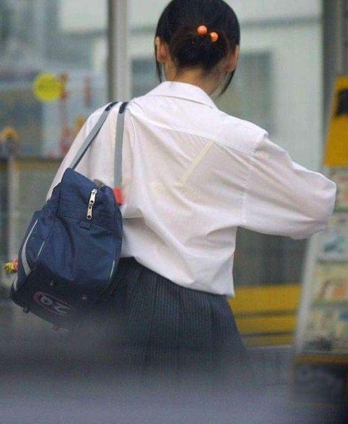 【画像あり】 透けブラ女子高生のエロ画像まとめたよ! 38枚 No.24