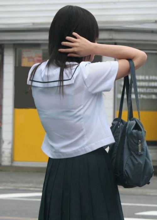 【画像あり】 透けブラ女子高生のエロ画像まとめたよ! 38枚 No.37