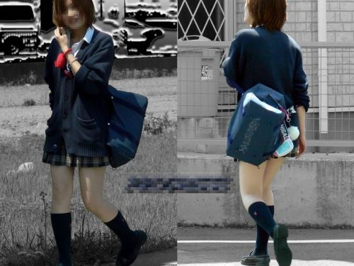 ムチムチ女子高生の街撮り盗撮画像まとめ 39枚 No.31