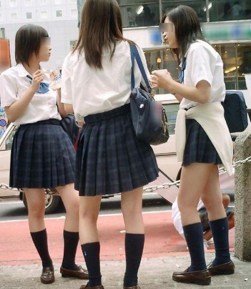 ムチムチ女子高生の街撮り盗撮画像まとめ 39枚 No.20