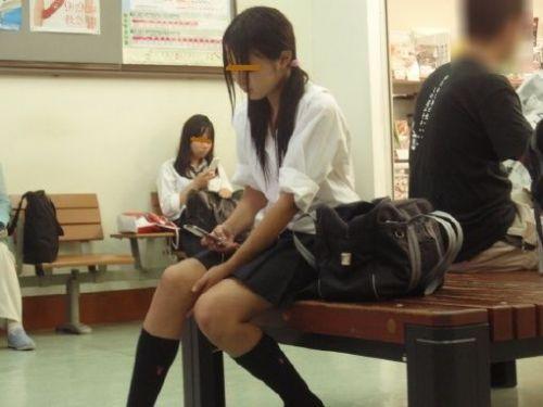 ムチムチ女子高生の街撮り盗撮画像まとめ 39枚 No.34
