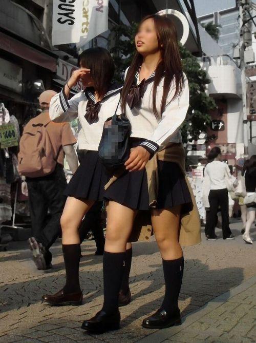 ムチムチ女子高生の街撮り盗撮画像まとめ 39枚 No.37
