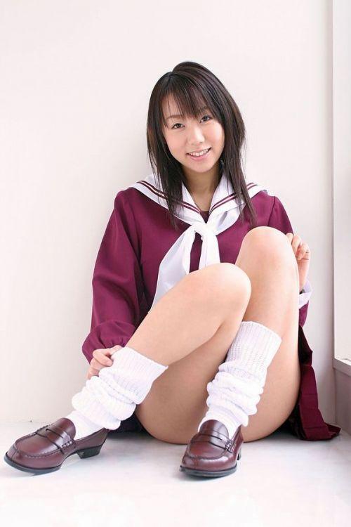 【画像】 モデル並にかわいい女子高生がミニスカでムチムチでパンチラ 36枚 No.34