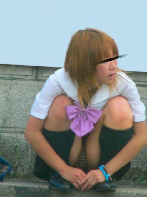 女子高生のパンチラ・ミニスカ・生足を盗撮したエロ画像まとめ 40枚 No.40