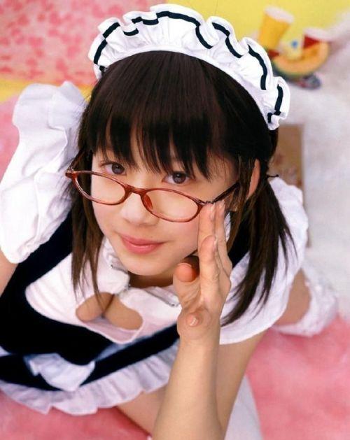 【エロ画像】メガネを掛けただけで20%は可愛くなるという事実! 36枚 No.26
