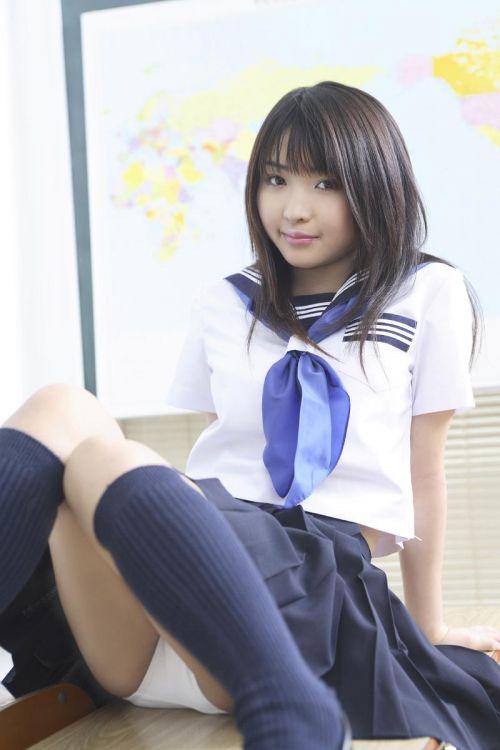 【エロ画像】 女子高生がくぱぁとM字開脚見せつけてくるんだがwww 40枚 No.40