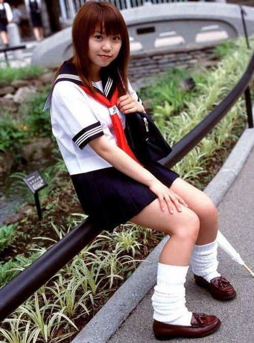 【画像】 モデル級の可愛い女子高生で妄想しよう! 39枚 No.12