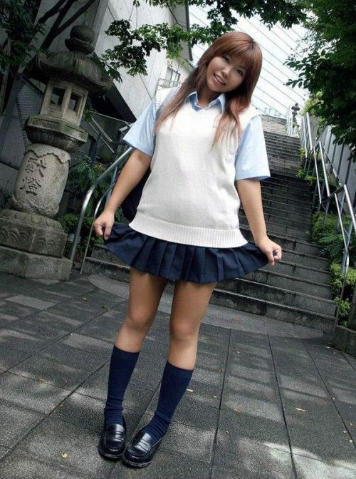 【画像】 モデル級の可愛い女子高生で妄想しよう! 39枚 No.19
