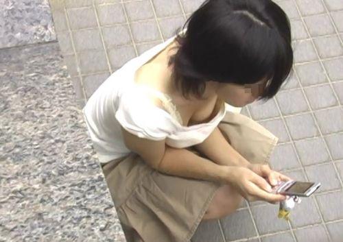 【盗撮画像】可愛い女の子の胸チラばかり集めてみたよ 37枚 No.33